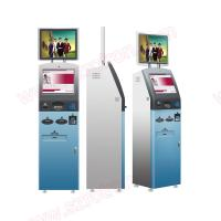 Best Cheap price good quality Multifunctional outdoor Self service dual screens touchscreen kiosk with card reader wholesale