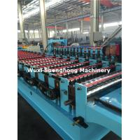 Chain Driven Automatic Cold Roll Forming Machine With Cutting Device