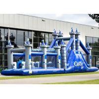 Best Playground Adult Inflatable Obstacle Course Adrenaline Rush OEM Service wholesale