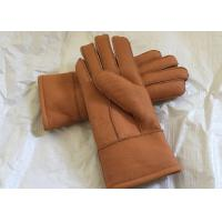 Best Large Men Size Warmest Sheepskin Gloves Thick Pile With Sheep Fur Lining wholesale