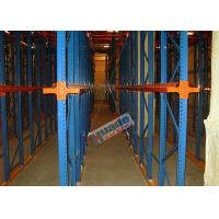 Best Heavy Load Drive In Racking , Galvanised Pallet Racking Storage Drive Through Racks wholesale