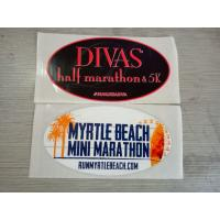 Best Safe Glossy Varnish Custom Waterproof Stickers For Decoration , Logo Printed wholesale