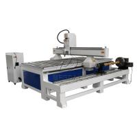 Best Removable  4 Axis 1325 Woodworking  CNC Engraving Machine with Dia 300 Rotary Axis Holder wholesale