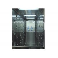 Quality Stainless Steel Tunnel Air Shower With Automatic Door , Clean Room Equipment wholesale