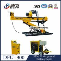 Cheap Compact and Portable DFU-300 Horizontal Core Drilling Machine for Gold and Coal for sale