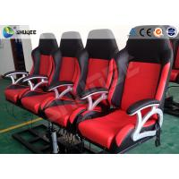 Best Pneumatic System 6d Motion Theater With Spary Water , Sweep Leg , Can Holding 200 People wholesale
