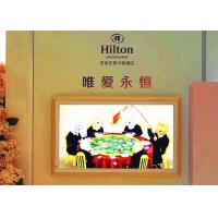 China Customized Size LCD Digital Signage Display Built In With Camera , Printer on sale