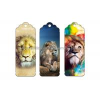 Cheap Reading Lenticular Personalized 3d Bookmarks For Kids To Print 3d Animal for sale
