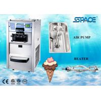 Best Floor Type Small Commercial Soft Serve Ice Cream Machine 3 Flavors 25 Liters/Hour wholesale