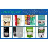 Best Plastic Custom Packaging Stand Up Resealable Pet Food Bag With Zipper wholesale