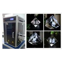 Buy cheap Glass Crystal 3D Laser Engraving Machine , Cost - Effective 3D Laser Engraving from wholesalers
