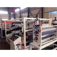 Best high capacity,low cost pvc roof tile roofing sheet production line/plant project wholesale