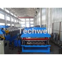 Best 18 Forming Stations Roof Panel Roll Forming Machine , Double Sheet Roll Forming Machine wholesale