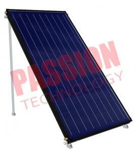 Best Blue Film Absorber Coating Solar Flat Plate Collector Black Frame Color wholesale