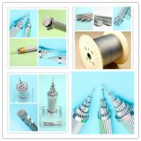 Best Strong Steel Reinforced Electrical Cable , Single Stranded Wire Acsr Rabbit Conductor wholesale