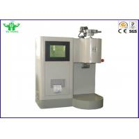 Best Plastic Material ASTM D1238 Flammability Testing Equipment / Melt Flow Index Tester Color With Touch Screen Display wholesale