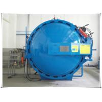 Automatic hot presser vulcanization tank autoclave with PLC system and cylindric and single drum structure