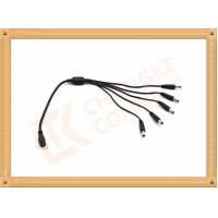 Best Male To Female Custom Power Cables DC12V 5.5X2.1 Mm 1 To 5 Y Type wholesale