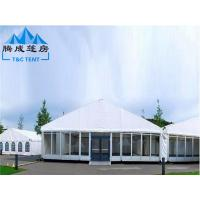 Best PVC Hard Pressed Extruded Aluminum Waterproof Canopy Tent High Resistance wholesale
