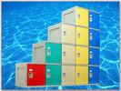 Best ABS Material Plastic Gym Lockers 2000 × 933 × 470mm For Sports Ground wholesale