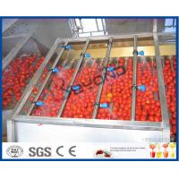 Best Tomato Processing Machinery Tomato Processing Line For Tomato Juice / Tomato Paste Production wholesale