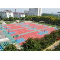 Professional Club Flooring Outdoor , Sports Flooring For Adults' Play Area