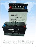 car battery/automobile battery/dry charged battery/golf battery