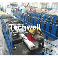 Best Downspout Machine / Suqure Tube Cold Roll Forming Machine for Making Rectangular Tube wholesale