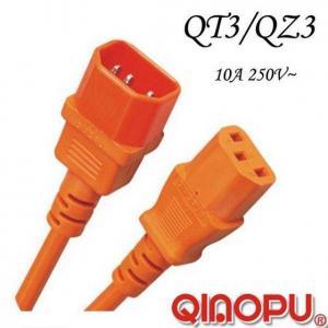 Best IEC 60320 C14 To C13 Extension Cord wholesale