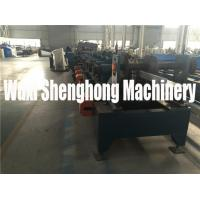 Quality Custom Made C / Z Purpline Cold Roll Forming Machine with 10 Rolling Stations wholesale