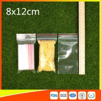 Best Ldpe Plastic  Reusable Ziplock Bags 8x12 cm With Colorful Line wholesale