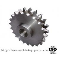 Machining Carbon Steel Double Sprocket Chain Wheel For Transmission