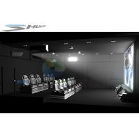 Cheap 3D / 4D / 5D / 6D / 7D Movie Theater Cinema System With 3 DOF Motion Chair for sale