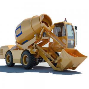 China Industrial Cement Mixer  FM3.5-2 MobileConcreteMixer Truck Mobile Concrete Mixer With Pump on sale