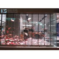 Best Indoor 1R1G1B P10 Glass Transparent LED Display , 100000 Hours Lifespan wholesale