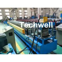 Best PLC Control System Cold Roll Forming Machine For Making Rainwater Gutter Roll Forming Machine wholesale