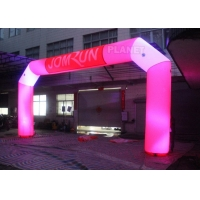Best Custom Advertising LED Inflatable Start Finish Arch For Event wholesale