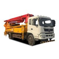 Best Concrete Pumping & mixing truck 30m max placing reach pump truck with mixer machine wholesale
