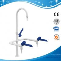 Best SHA1-1-Three Way/Triple outlet Lab Tap/Faucet,brass,360°swing,White/lever handle optional wholesale