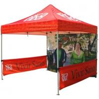 Best Red 10x10ft Easy Folding garden Pop Up Gazebo Tent Dye Sublimation Printing wholesale