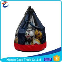 Best 420D Oxford Cloth Mesh Soccer Ball Bag 65 X 65 X 82 Cm Size Big Loaded Ball Package wholesale