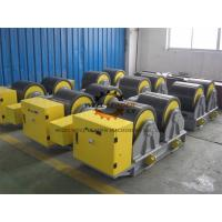Quality Manual Adjustable PU Tank Turning Rolls 40T Loading Capaicty CE Standard wholesale