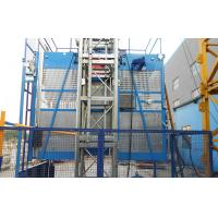 Best Building Personal / Material Hoist With Single Cage 150m Lifting Height wholesale