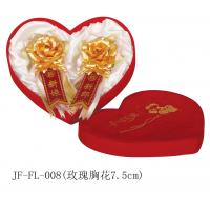 Best 24K gold foil rose wedding flowers wholesale