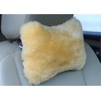 Best Bone Shape Lambswool Seat Cushion Soft Comfortable For Car Decoration / Headrest wholesale