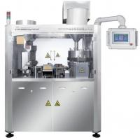 China 23 Holes Capsule Manufacturing Machine , Pill Capsule Filler Machine With Multiple Tamping Stations on sale