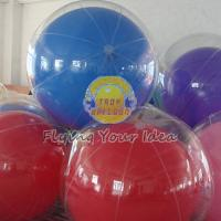 Cheap Transparent Inflatable Advertising Inflatable Helium Balloon for Entertainment for sale