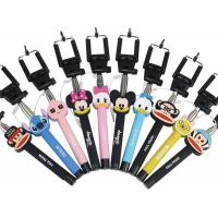 Best Wholesale cartoon selfie stick, cartoon monopod for IPhone, Samsung and any smart phone wholesale