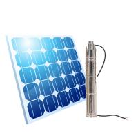 China Solar Panle Charge Pump  factory price 24 volts solar submersible pump deep well pump Centrifugal Pump on sale