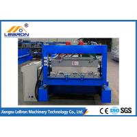 China Full Automatic Floor Deck Roll Forming Machine , Steel Sheet Forming Machine on sale